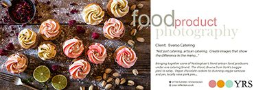 YRSFood, Derby Food Photography - Everso Food Catering.